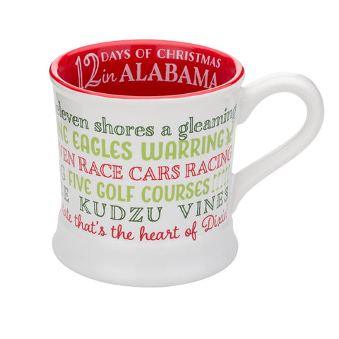 12 Days of Christmas Arkansas 14oz Ceramic Mug