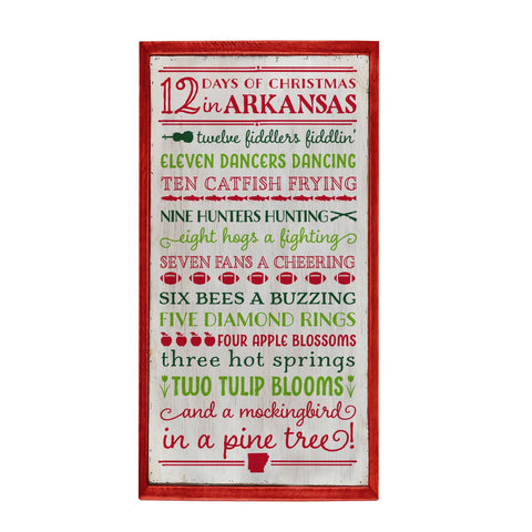12 Days of Christmas Florida Guest Napkins