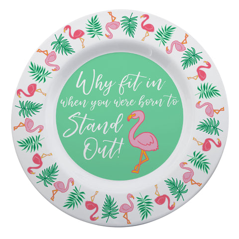 "Kitchen Tea Towel - ""Why Fit In When You Were Born to Stand Out"""