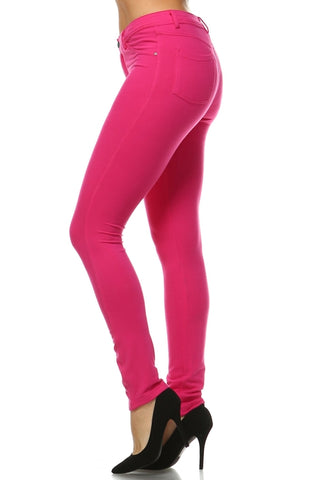 Women's French Terry Jeggings - AssToTheGrass