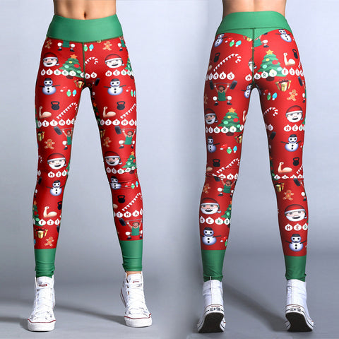 2018 New Year Christmas Leggings - AssToTheGrass