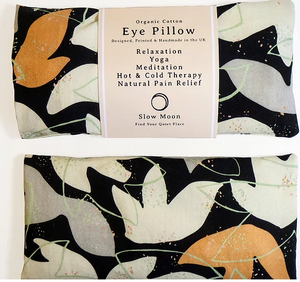 Organic Eye Pillows for Sleep or Mediation