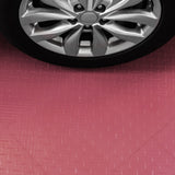 Red diamond plate flooring: diamond plate garage flooring tile