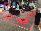 Interlocking Garage Carpet Tiles tradeshow