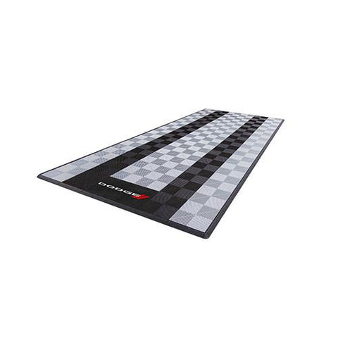 Swisstrax Dodge Single Garage Mat & Parking Mat Black Gray