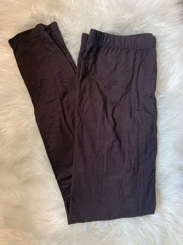 Brown Plus Size Leggings