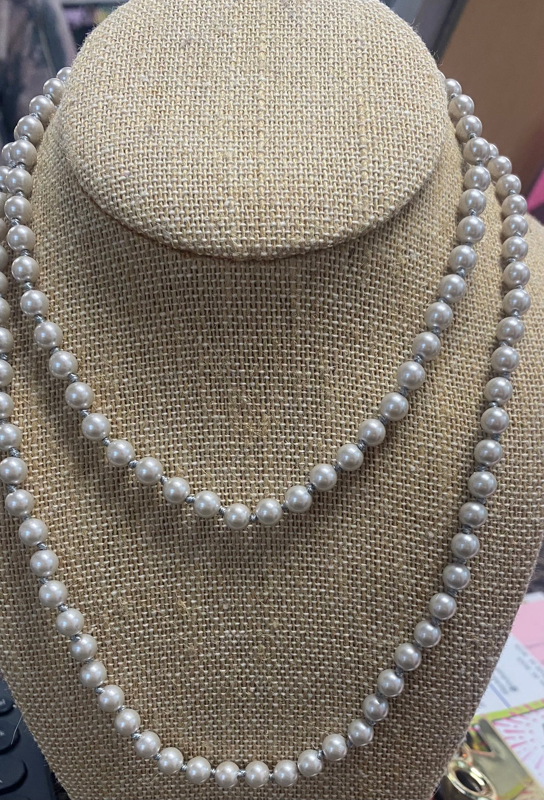 Taupe Pearls