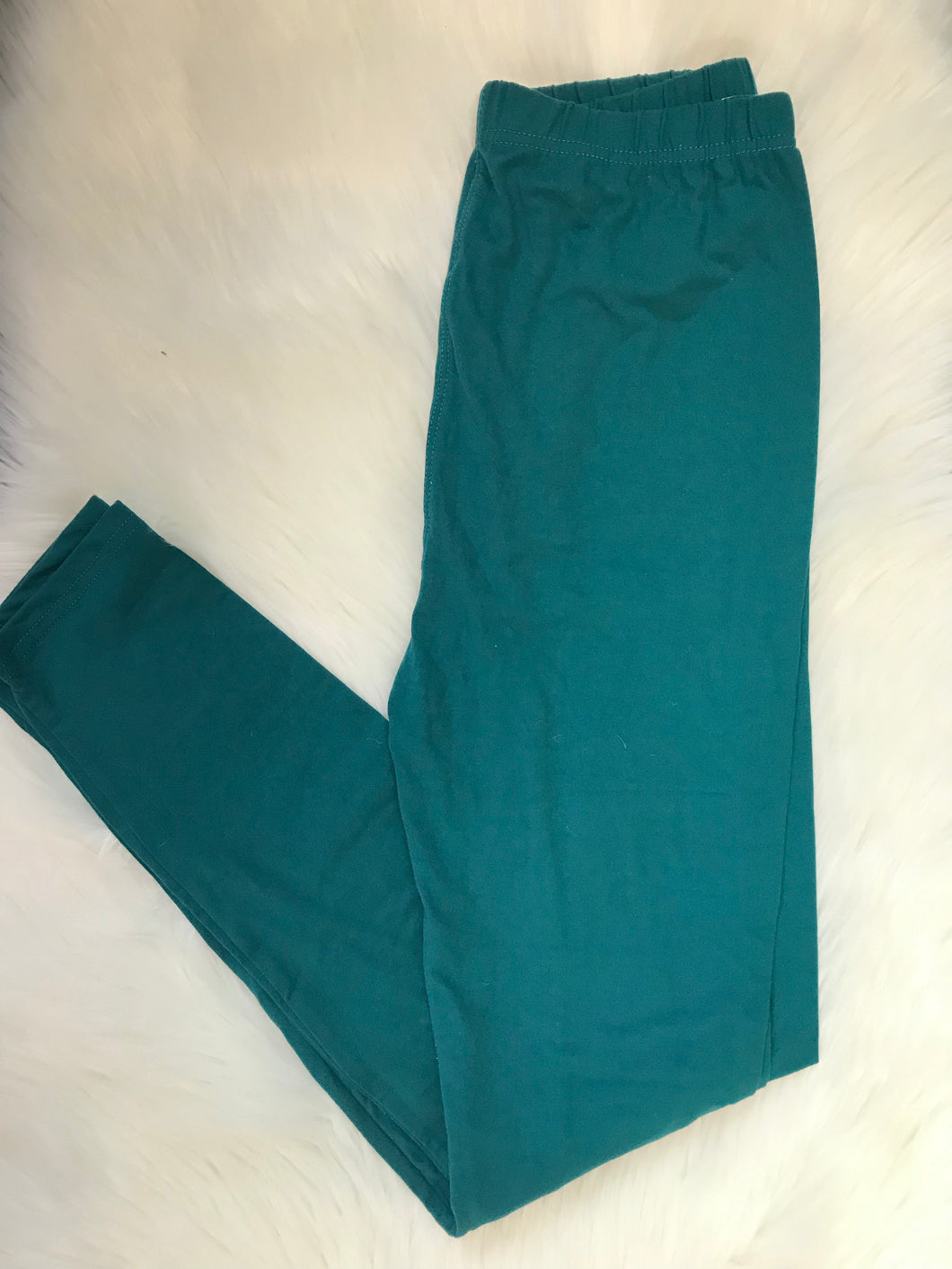 Teal One Size Leggings