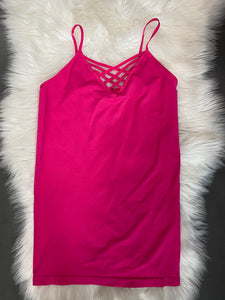 Pink Cage Tank