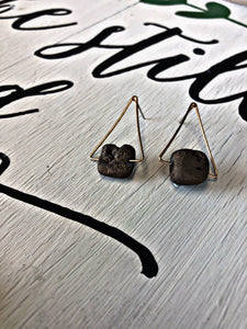 Rock Earrings