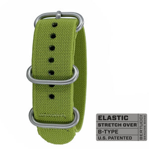 "#337 - Jungle Green w/ matte hardware, 7/8"" - 22 mm size for A-2, A-3, A-6 & B-1 Cases"