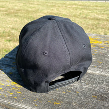 #A0026 Bertucci Cotton Twill Snapback Hat (Graphite)