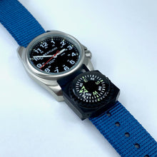 "#249C Mariner Blue w/ matte hardware, 3/4"" - 19 mm size for A-1 & C-1 Cases + Free Compass"