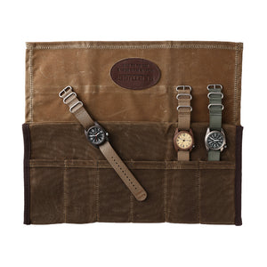 #A0008 Bertucci® Professional Wax Canvas Watch Roll No.1