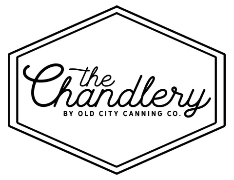 The Chandlery Philadelphia modern supply shop candle shop featuring holiday candles by Old City Canning Co