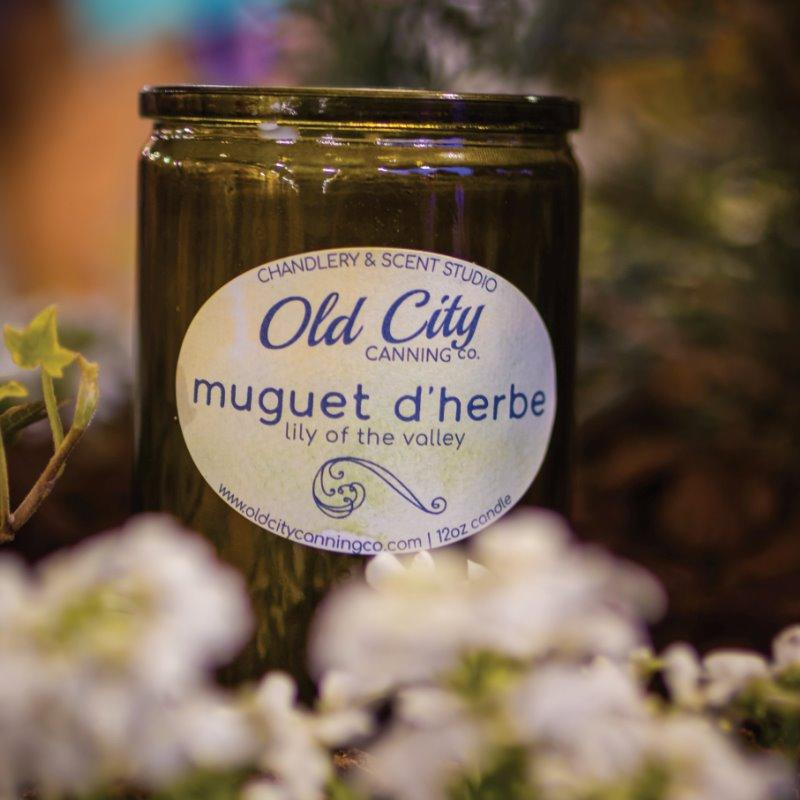 Muguet d'Herbes Candle Candle Old City Canning Co.