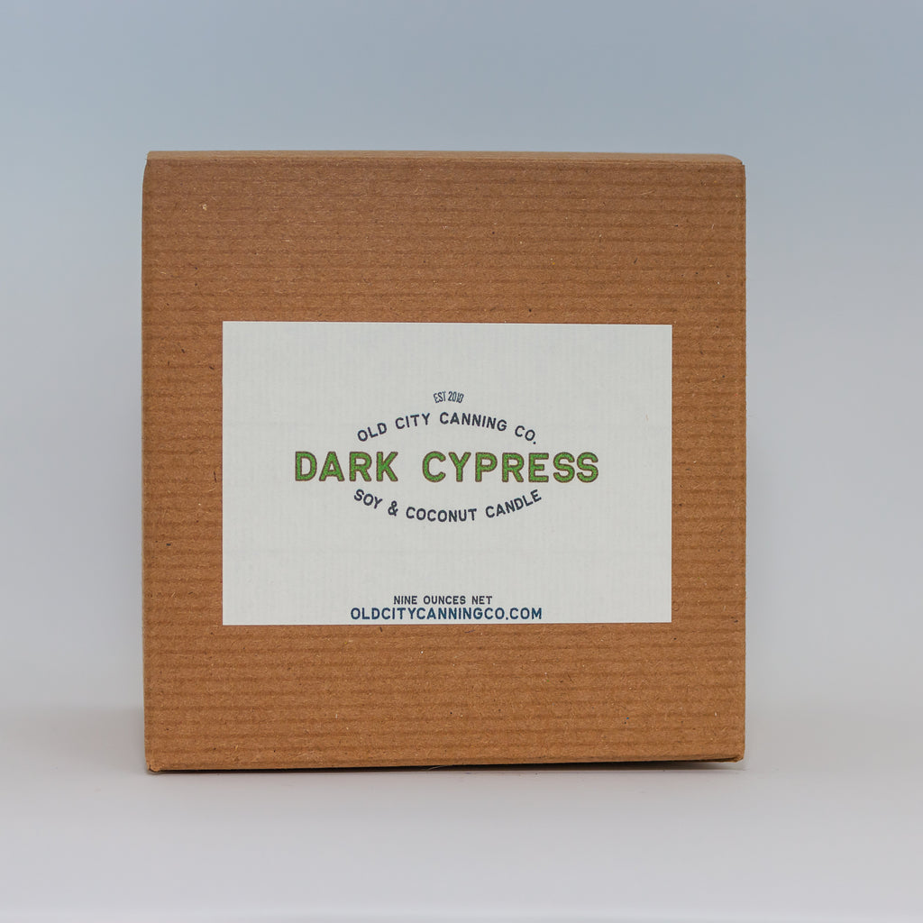 Dark Cypress Candle