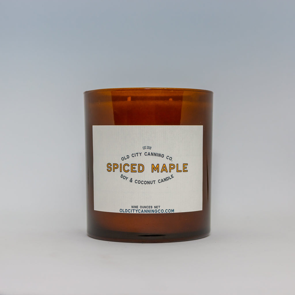 Spiced Maple Candle Candle Old City Canning Co.