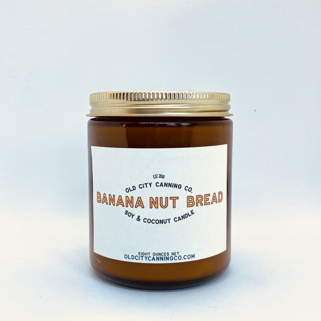 Banana Nut Bread Candle Candle Old City Canning Co.