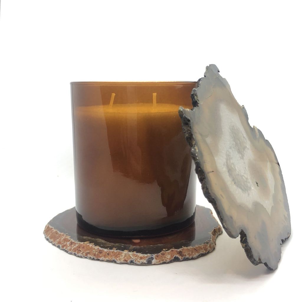 Agate Candle Coaster Accessory Old City Canning Co.