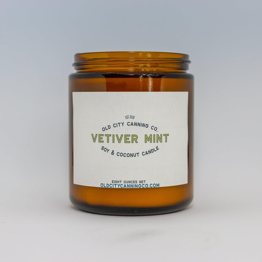 Vetiver + Mint Candle