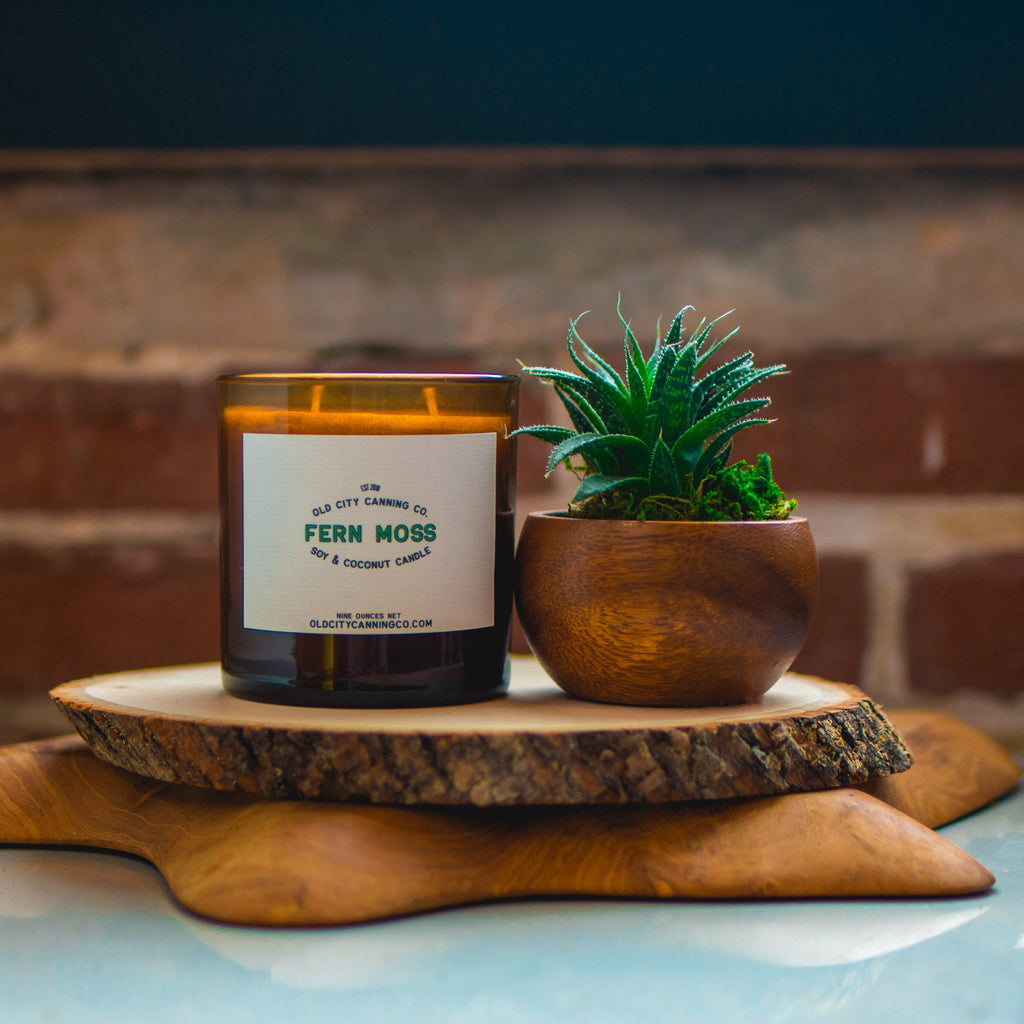 Fern Moss Candle Candle Old City Canning Co.