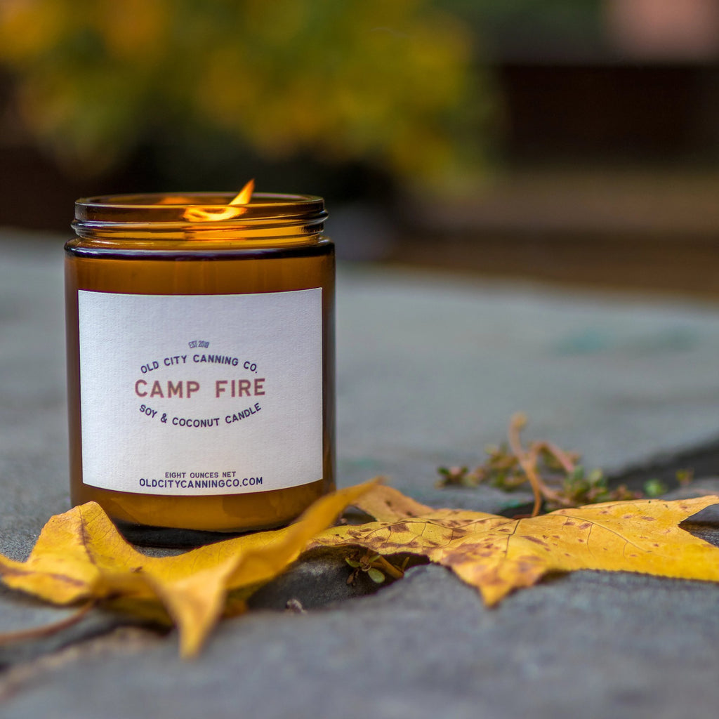 Campfire Candle Candle Old City Canning Co.