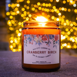 Cranberry Birch Candle