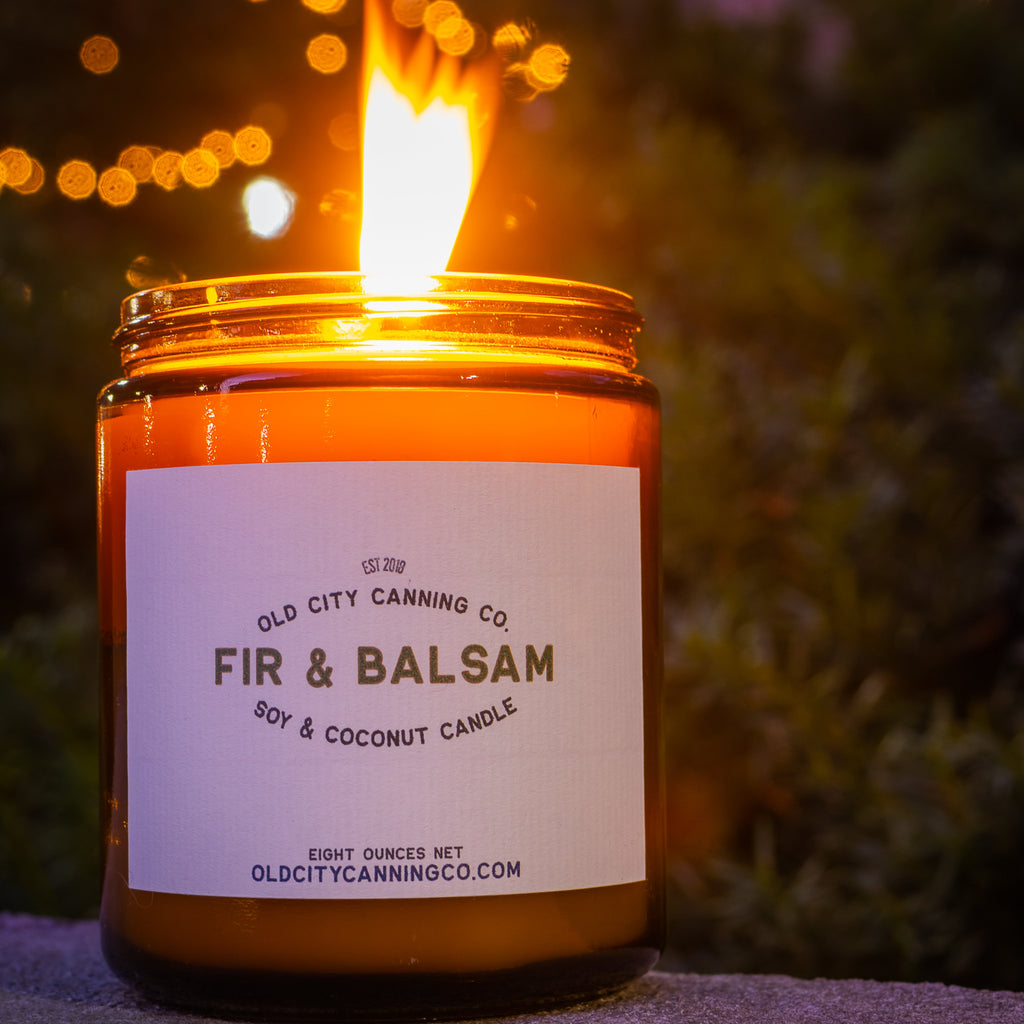 Fir + Balsam Candle Candle Old City Canning Co.