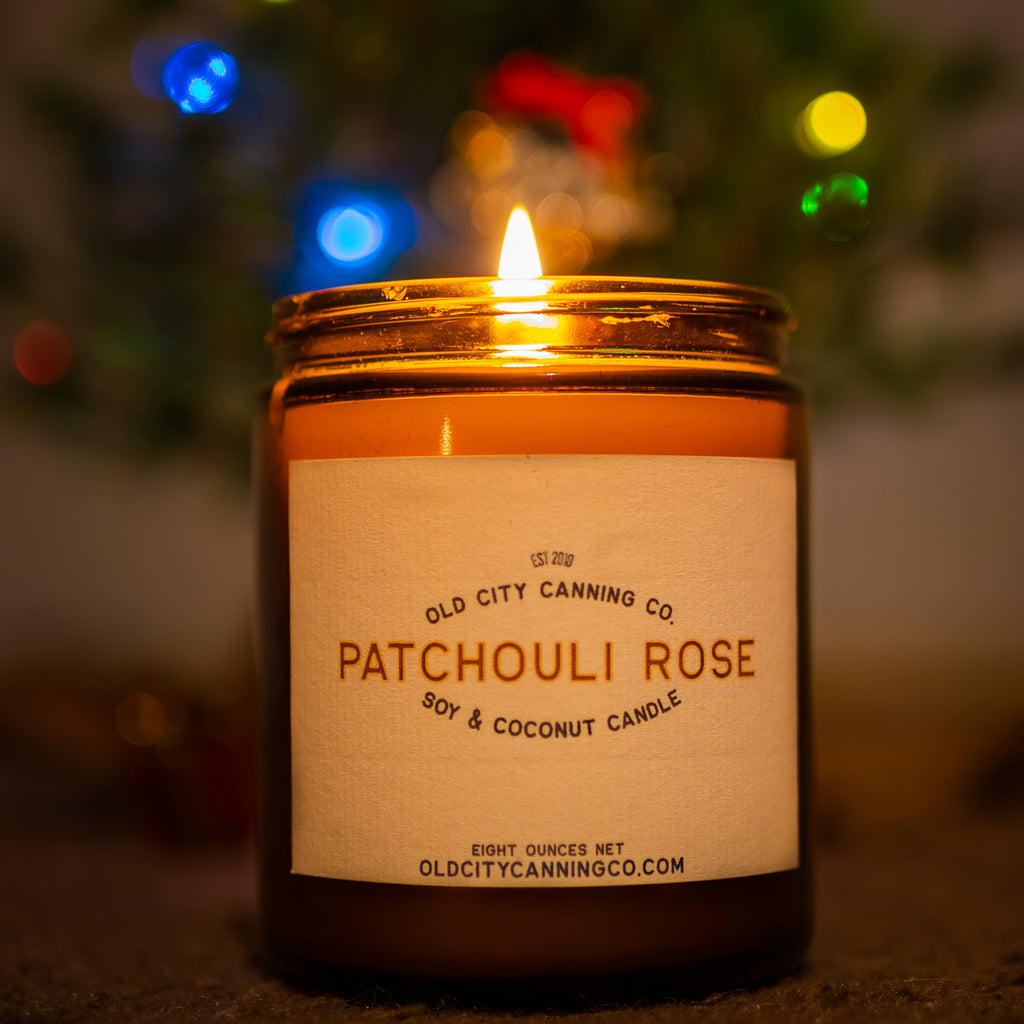 Patchouli Rose Candle