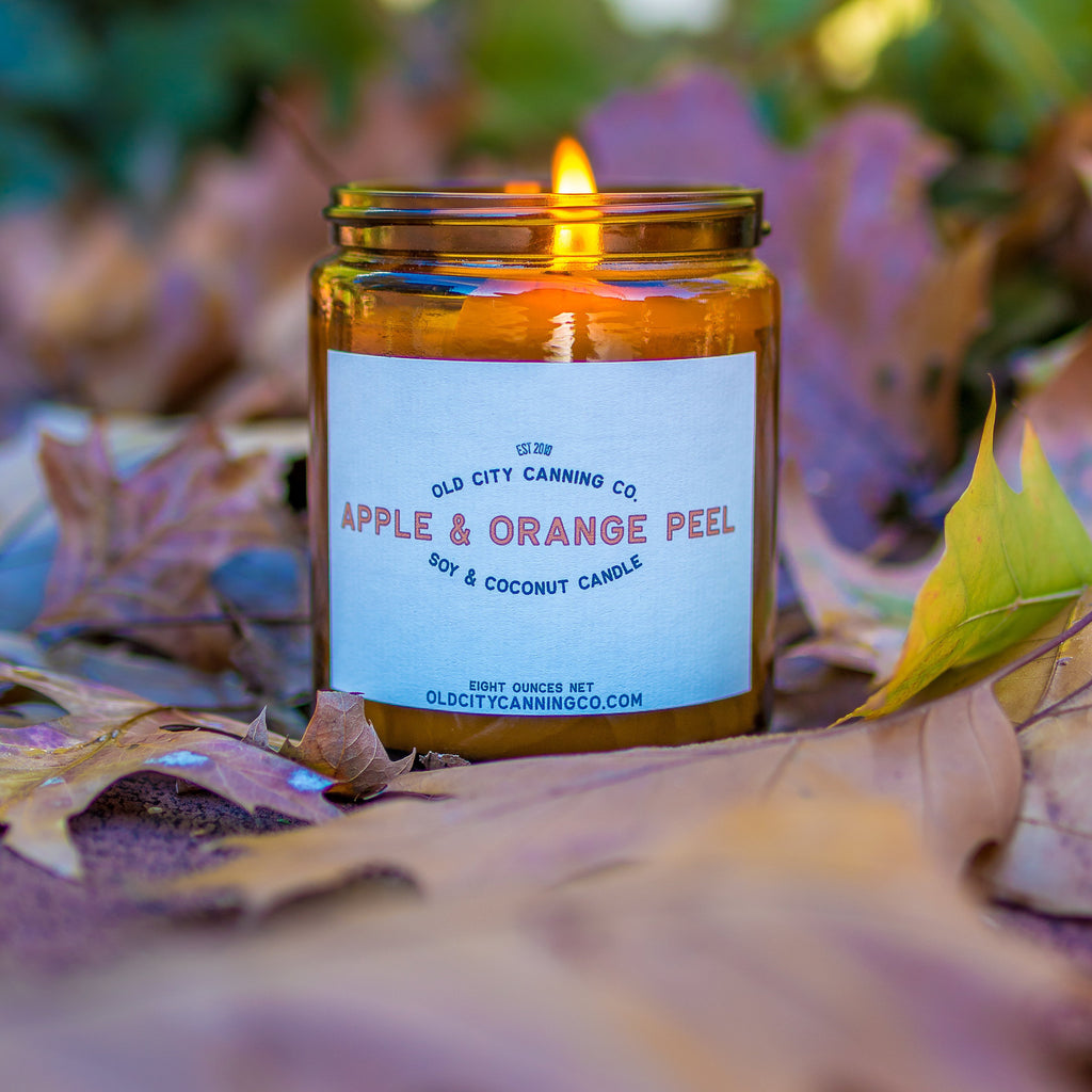 Apple + Orange Peel Candle