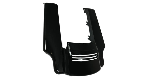 Bagger Brothers Angled ABS Fender Extension and Filler Panels for 2014-2017 Harley-Davidson® Touring Models, Bagger Brothers