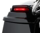 Bagger Brothers Vivid Black LED Saddlebag Spoiler Kit, Bagger Brothers