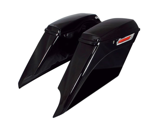 Bagger Brothers Complete Extended Saddlebag Kit - 5 Down, 5 Out - 2014-2018 Harley-Davidson® FL Models, Bagger Brothers