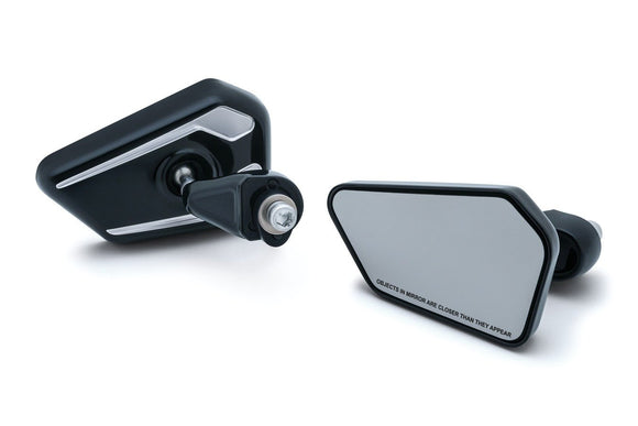 Bagger Brothers Elite Series Fairing Mounted Mirrors for 2014-2017 Harley-Davidson® Touring Models, Bagger Brothers
