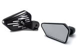 Bagger Brothers Pinstripe Series Fairing Mounted Mirrors for 2014-2017 Harley-Davidson® Touring Models, Bagger Brothers