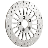 "Bagger Brothers 11.5"" Polished Stainless-Steel Rear Rotor - Designed for 2000-2017 Harley-Davidson® Models, Bagger Brothers"