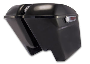 "Bagger Brothers Complete 4.5"" Extended Saddlebag Kit - Vivid Black - '14-'16 FL Models, Bagger Brothers"