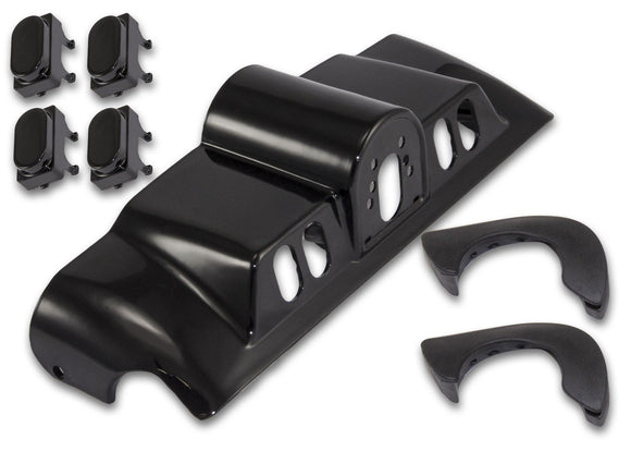 Bagger Brothers Inner Fairing Switch Cap Kit (Black), Bagger Brothers
