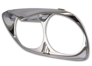 Bagger Brothers Mini-Scowl Road Glide Headlight Trim (Chrome), Bagger Brothers
