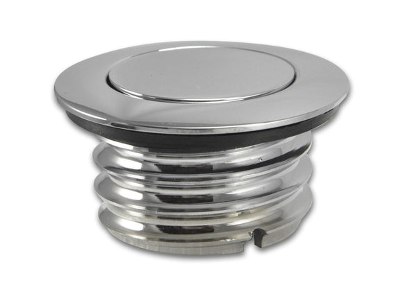 Bagger Brothers Vented Pop-Up Chrome Gas Cap - L1996-2016 Fitment, Bagger Brothers