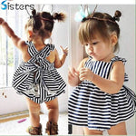 Baby Girl Summer Dress with Bloomers