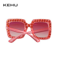 Trendy Square Sparkle Sunglasses