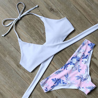 Wrap Bikini Swimsuit (Prints)