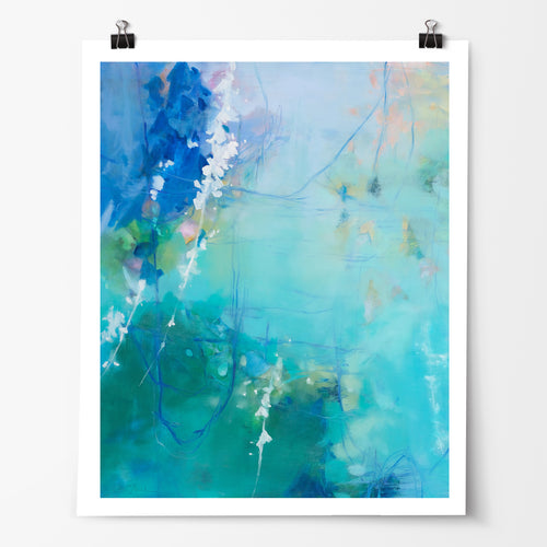 Float fine art print