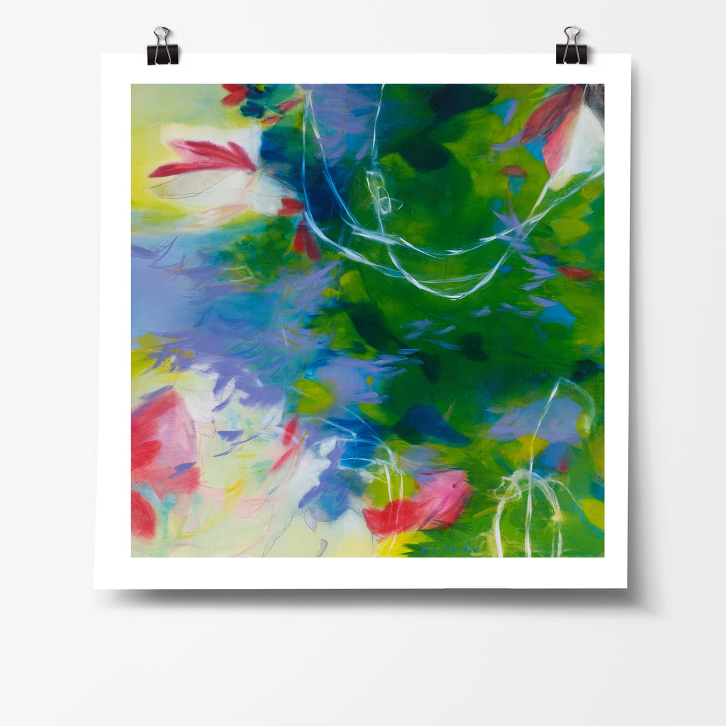 That Green fine art print