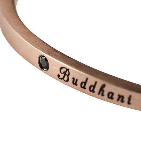 KHANTI - Matte Rose Gold - Buddhani Fashion jewelry for men