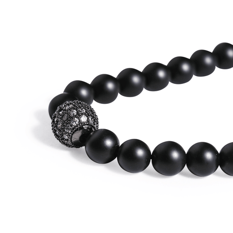 SUKHAVATI - Natural CZ Ball - Buddhani Fashion jewelry for men