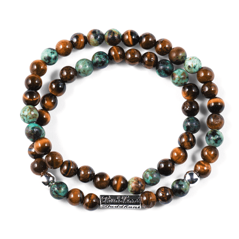 CITTA - African Turquoise - Buddhani Fashion jewelry for men