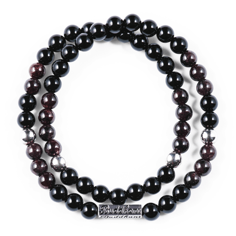 CITTA - Garnet - Buddhani Fashion jewelry for men